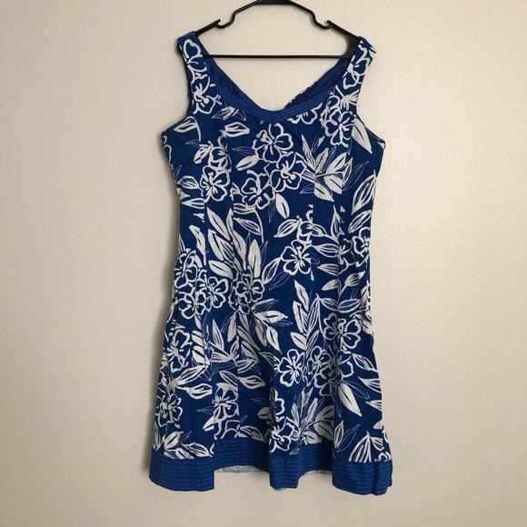 Dorby Dresses & Skirts - •Dorby• Blue floral dress
